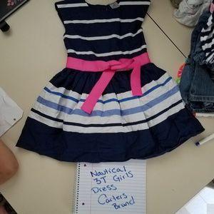 Girls nautical dress 3t